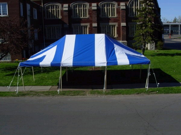 Where to find TENT, 20  X 30  STRIPED in Huntsville