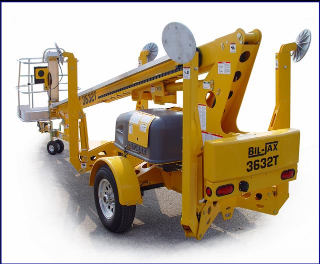 BOOM LIFT 36 FOOT TOWABLE Rentals Huntsville ON, Where to